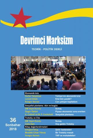 Devrimci Marksizm Sayı 36 Kapak